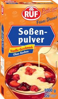 RUF Soßenpulver Vanille-Geschmack ohne Kochen 1000g 10er Pack