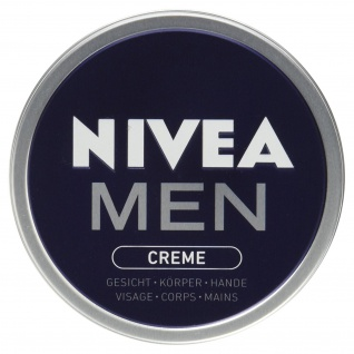 Nivea for Men Pflegecreme pflegt Haut mit Feuchtigkeit 30ml 5er Pack