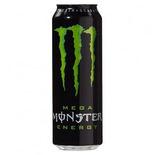 Monster Energy Mega Koffeinhaltiges Erfrischungsgetränk 553ml 6er Pack