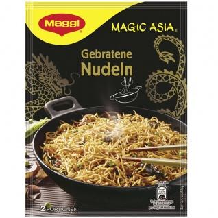 Maggi Magic Asia Gebratene Nudeln mit Gemüse für 2 Portionen 121g