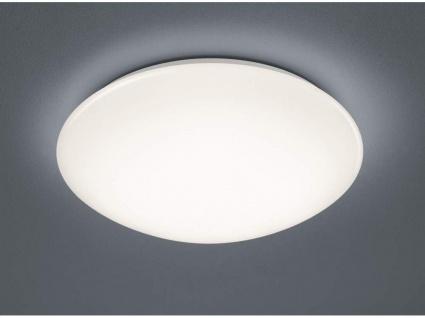 Lukida LED Klassik weiß Deckenleuchte mit Fernbedienung dimmbar 18W