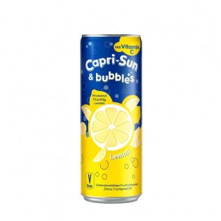 Capri Sun und Bubbles Lemon Kohlensäurehaltiges Getränk 330ml