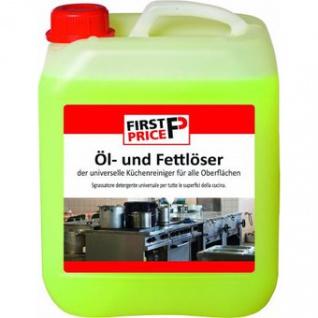First Price Öl- und Fettlöser 5L, Entfernt hartnäckige Ablagerungen