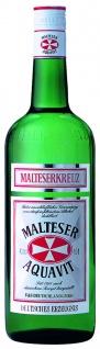 Malteserkreuz Aquavit nach Kümmel und anderen Gewürzen 1000 ml