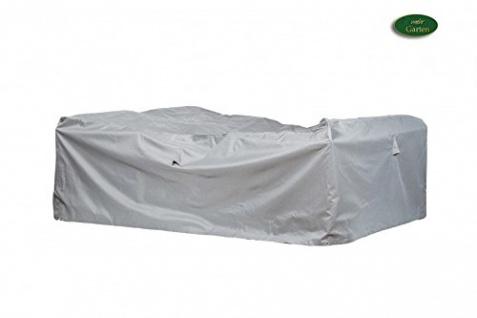 Premium Schutzhülle für Eck-Loungegruppe Größe L (255 x 255 cm)