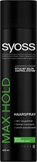Syoss Haarspray Max Hold, 3er Pack (3 x 400 ml)