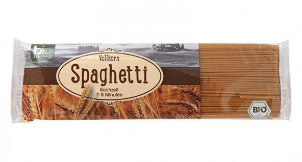 Bio Zentrale Vollkorn Spaghetti aus Hartweizenvollkorn 500g 6er Pack