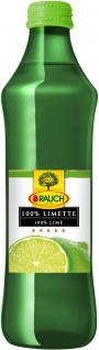 Rauch 100 Prozent Limettensaft fruchtig zitronig frisch 250ml