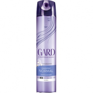 Gard Professional Styling Haarspray Normal dauerhafter Halt 250ml 5er Pack