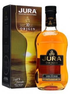 Isle of Jura Origin 10 Years Old + GB 40% Vol. 0, 7 l