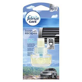 Febreze Auto-Lufterfrischer Klare Bergluft Nachfüller 7 ml, 6er Pack (6 x 1 Stück)