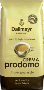 Dallmayr Prodomo Caffee Crema Ganze Bohnen samtig fein 1000g