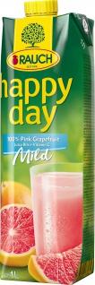 Rauch Happy Day Pink Grapefruit rosa mit Fruchtfleisch 1000ml