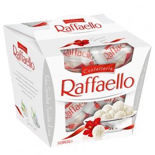 Raffaello aus knackiger Hülle mit Kokosraspeln Cremiger Füllung 150g