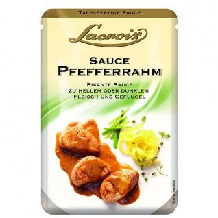 Lacroix Tafelfertige Saucen Pfefferrahm fein und Pikante 150ml