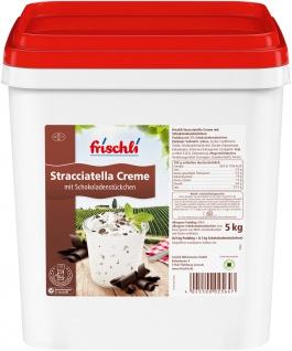 Frischli Stracciatella Creme eine unwiderstehliche Kombination 5000g