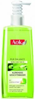 Aok Klärendes Gesichtswasser mit Ginseng-Extrakt, 1er Pack (1 x 200 ml)