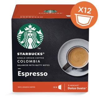 Starbucks Dolce Gusto Espresso Arabica Kaffee Inhalt 12 Kapseln