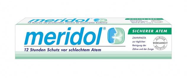 Meridol sicherer Atem Zahnpasta 12er Pack 900ml