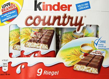Ferrero Kinder Country VE9, 211, 5g - Vorschau