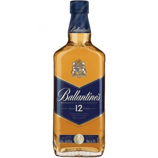 Ballantine's Blended Scotch Whisky Aged 12 years in Geschenkverpackung