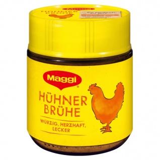 Maggi Klare Hühner-Bouillon für 4 Liter mit Hühnerfleisch und Hühnerfett 92g