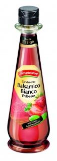 Hengstenberg Weißweinessig Condimento Balsamico Bianco Erdbeere 250 ml