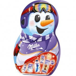 Mondelez Milka Snow Mix Adventskalender Mischung AlpenmilchSchoko 236g