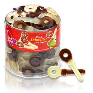 Red Band Fruchtgummi-Schnuller mit Colageschmack ohne Farbstoffe 1200g