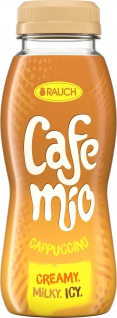 Rauch Cafe mio Capuccino mit Milch und Kaffee 250ml 12er Pack