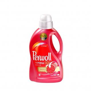 Perwoll renew 3D color Waschmittel mit aktiv Pflege 20 Waschladungen 1500ml