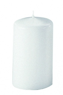 Kerzen Stumpenkerzen Candle weiß 130x70mm RAL Qualität 1 Stück