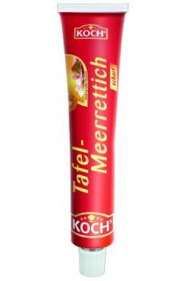 Kochs Tafelmeerrettich scharf ideal zu jeder Brotzeit 95g 12er Pack