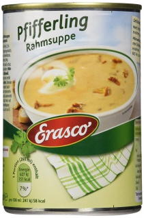 Erasco Pfifferling Rahmsuppe, 3er Pack (3 x 390 ml)