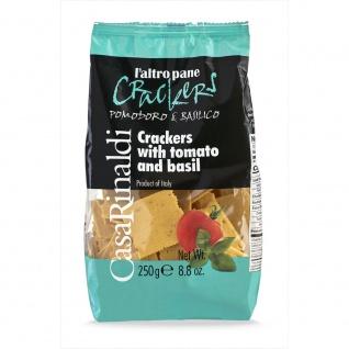 Casa Rinaldi Italienische Crackers mit Tomate und Basilikum 250g