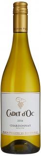 Rothschild Cadet d'Oc Barbacchus Chardonnay trockener Weißwein 750 ml