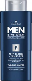 Schwarzkopf MEN Shampoo Aktiv Protein Frische-Kick 4 x 250 ml
