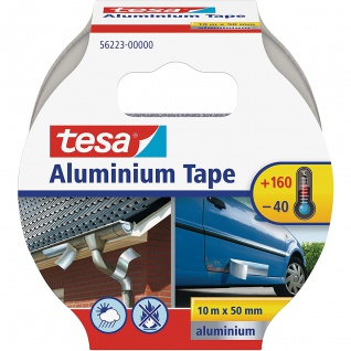 tesa Aluminium Reparatur Klebeband hohe Abmessungen 10 m x 50 mm