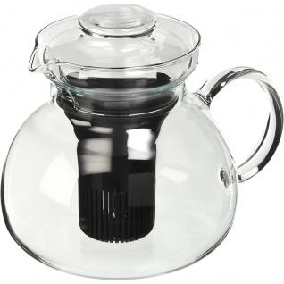 Simax Ganzglaskanne mit Glasdeckel Marta Borosilikatglas 1.5l