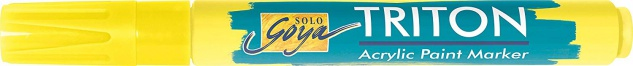 Kreul Acrylmarker SOLO Goya Triton Acrylic 1.4 Fluoreszierend Gelb