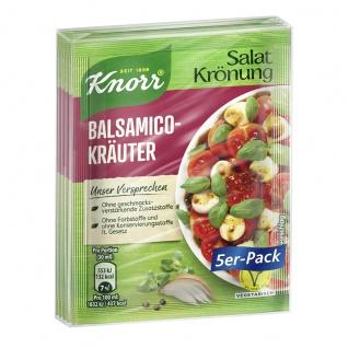 Knorr Salatkrönung Balsamico Kräuter Salatdressing 5 x 10g 5er