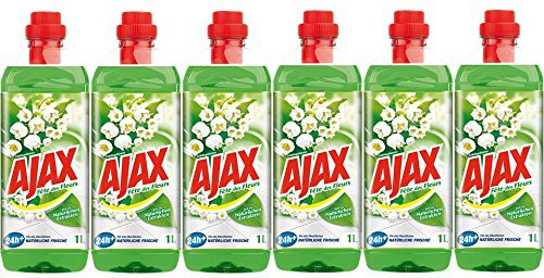 Ajax Allzweckreiniger Frühlingsblumen 6er Pack 6000ml