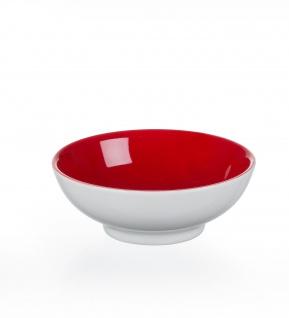 Ritzenhoff und Breker Doppio rot Schale aus Porzellan Flirt 11cm
