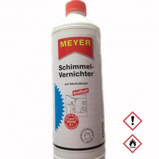 Meyer Schimmelvernichter Reiniger gegen Schimmel und Bakterien 1000ml