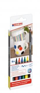 Porzellan Pinselstift e-4200/6
