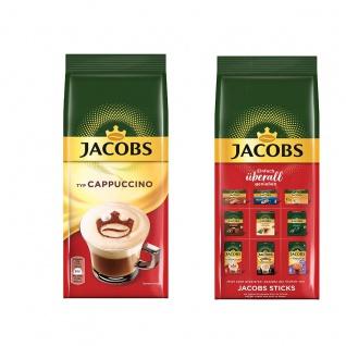 Jacobs Cappuccino erstklassiger Geschmack im Nachfüllbeutel 400g