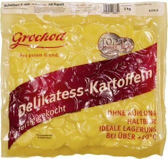 Kartoffeln Scheiben 6mm mit Öl 3kg