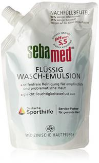 Sebamed Flüssig Wasch-Emulsion, Nachfüllpack, 1er Pack (1 x 400 ml) - Vorschau