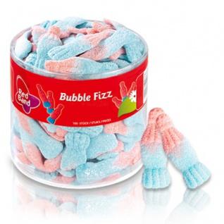 Red Band Bubble Fizz saure Schaumzucker Fläschchen mit Kaugummi 1000g