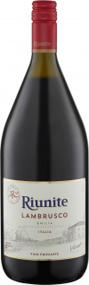Riunite Lambrusco Emilia Rosso IGT Italienischer Perlwein süss 1500ml